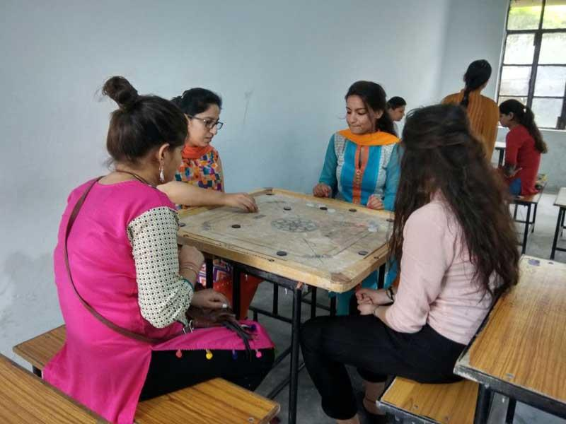 Sports week Celebration- Carrom competition