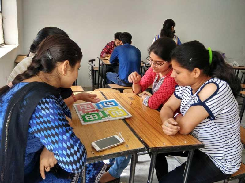 Sports week Celebration- Ludo competition